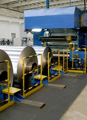 Flat mills for metal sheet and alluminium