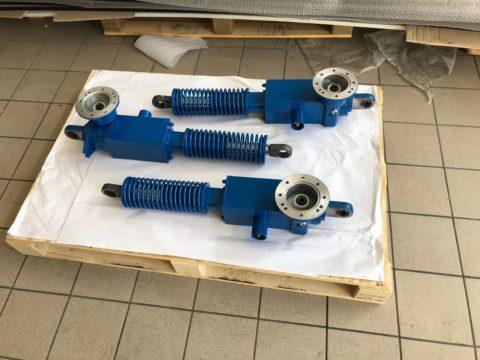 Actuators and pull and push servo controls
